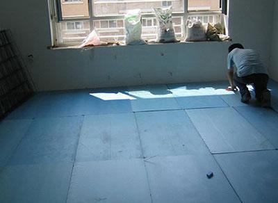 楼顶挤塑板案例